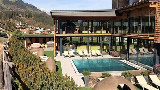 Das Hotel Alpina Zillertal.          @zwerge_und_berge