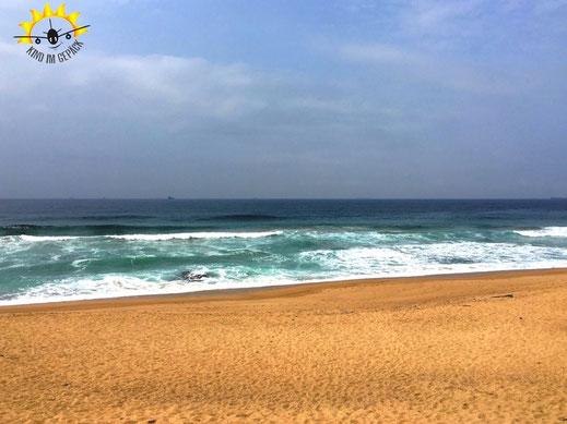 Der Strand von Umdloti Beach.