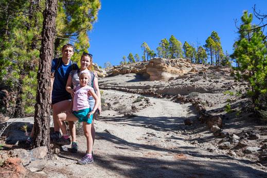 Aktivurlaub für Familien auf La Palma: wandern macht hier allen Spaß!