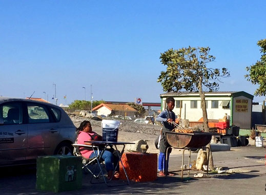 Ein Einblick in Khayelitsha, Kapstadts größtem Township.