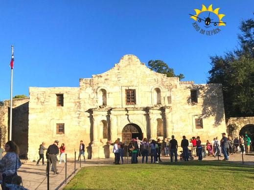 The Alamo - Museum in Downtown San Antonio.
