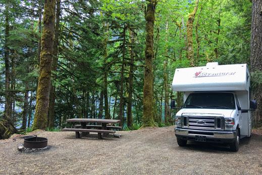 Camping im Wohnmobil in den USA - einfach herrlich.