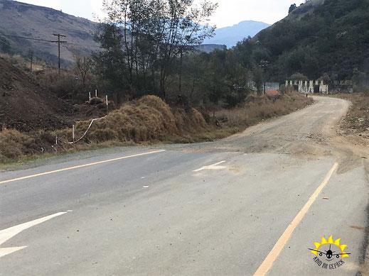 Der Sani Pass nach Lesotho ist eine Dirtroad.