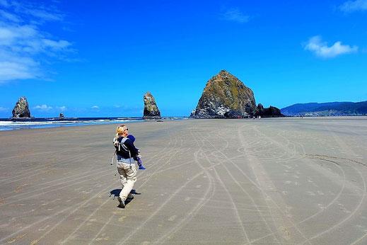 Spazieren entlang der Oregon Coast...