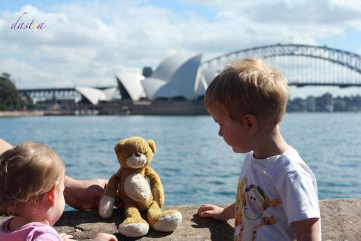 Schon die Kleinsten haben Spaß in und um Sydney. @dastoa
