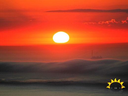 Sonnenuntergang vom Signal Hill aus.