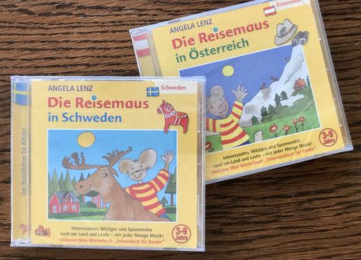 Die Reisemaus in Schweden und Österreich unterwegs.
