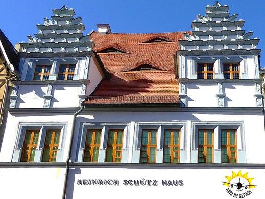 Das Wohnhaus von dem Vater der deutschen Musik: Heinricht Schütz in Weißenfels.
