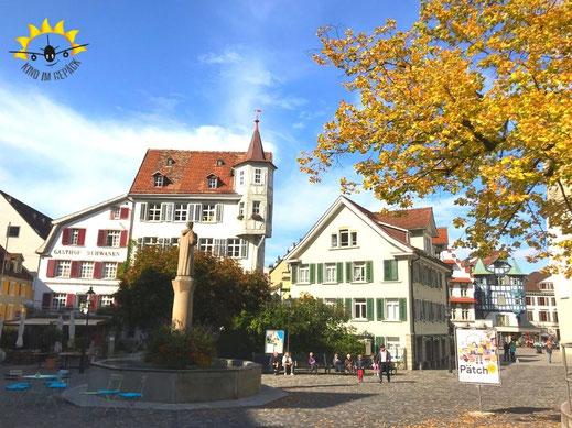 St. Gallen im Herbst lohnt zur Stadtbesichtigung.