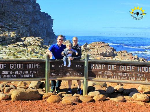 AM Kap der guten Hoffnung in Kapstadt.