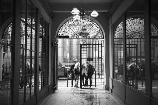 De l'ombre à la lumière - Galerie Vivienne, Paris. 2017.