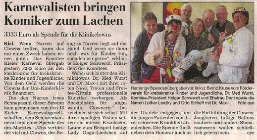 (Text und Foto: Kieler Nachrichten)