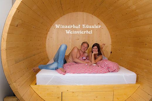 Schlafen im Weinfass, Winzerhof Küssler