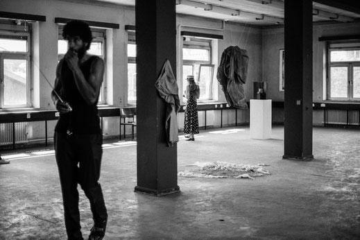 Foto, Marta Maria Mróz, Paff the Magic, Kaiserslautern, Künstlerwerkgemeinschaft, KWG, video, Kunst, künstlersche Dokumentation , Bea Roth, Kevin S. Carter