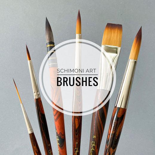 Fibonacci Brushes
