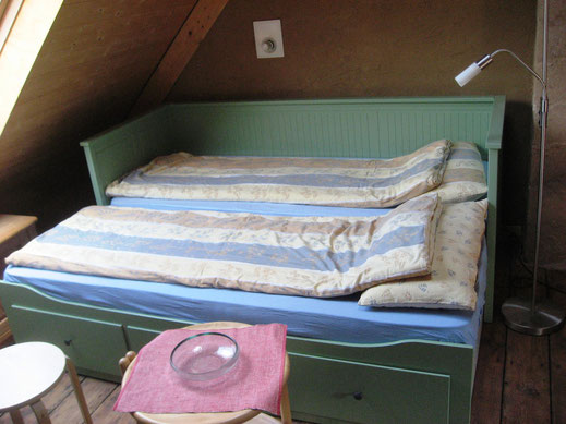 Bett als Doppelbett