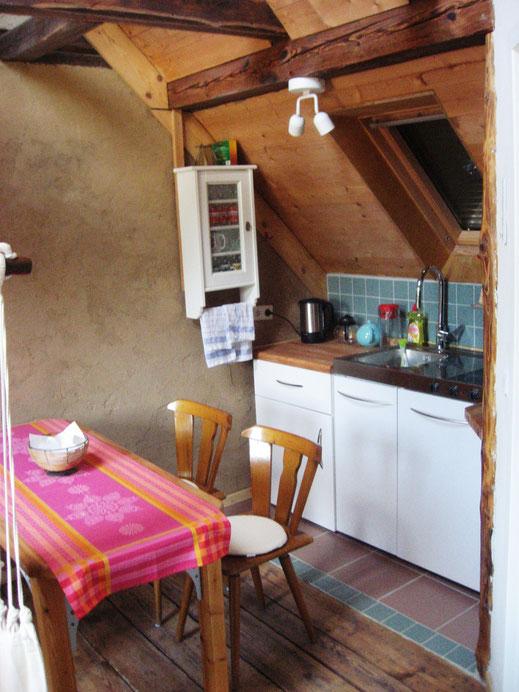Essplatz und Küchenzeile