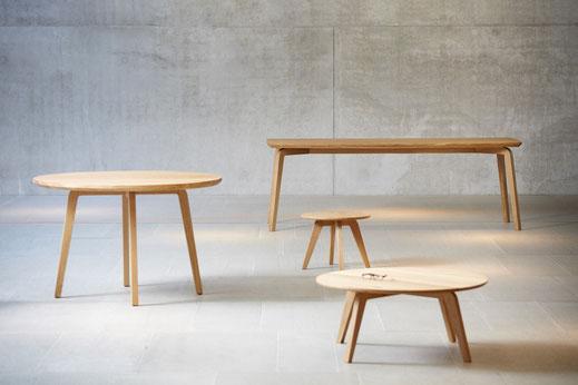 Tische, Esstische, Couchtische, Beistelltische