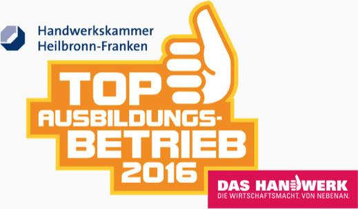 Handwerkskammer Heilbronn Franken Top Ausbildungsbetrieb Kurt Betz GmbH Maschinenbau Werkzeugbau Heilbronn Stuttgart