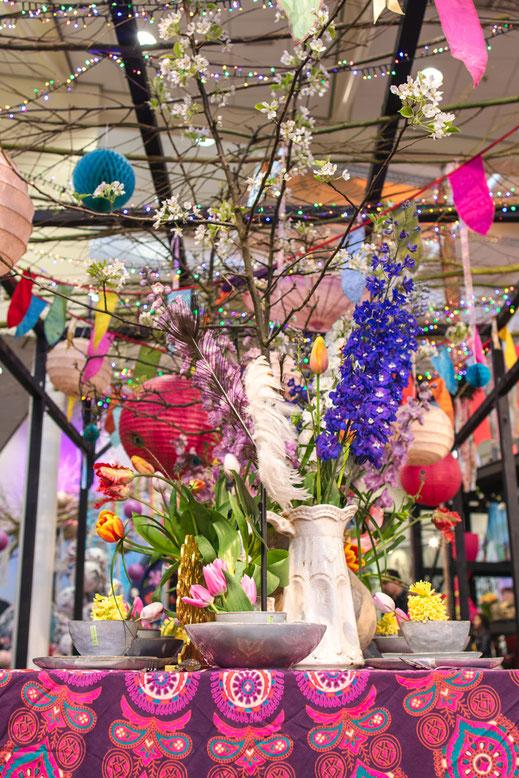 Dekoration Tulpen Keukenhof Holland Virginie Varon
