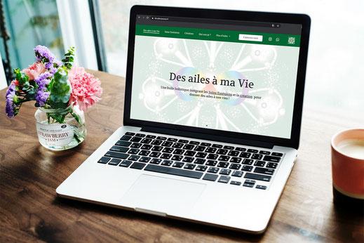 Webseite design Virginie Varon