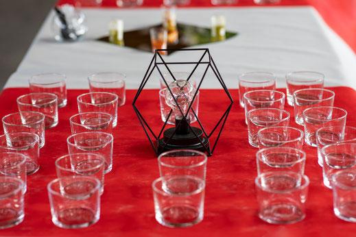 Hochzeitsfotograf Reutlingen Virginie Varon Hochzeitspaar sektempfang