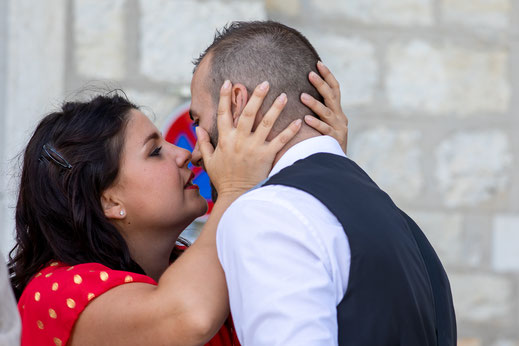 Hochzeitsfotograf Reutlingen Virginie Varon Hochzeitspaar Liebe Kuss