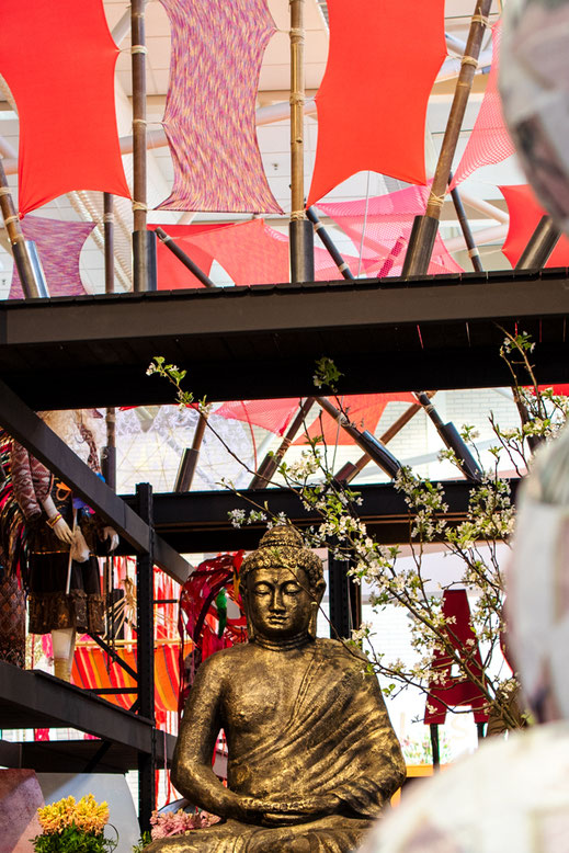 Keukenhof Holland Buddha dekoration Virginie Varon