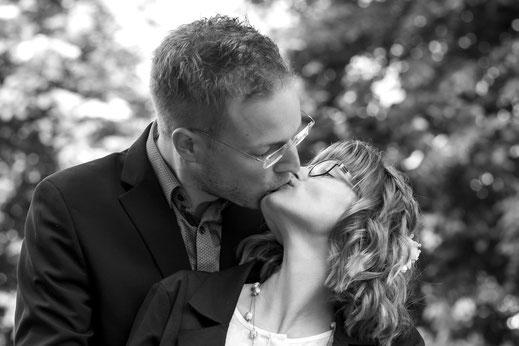 Hochzeit Kuss Standesamt Reutlingen Fotograf Virginie Varon