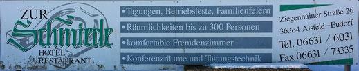 Zur Schmiede. Hotel Restaurant
