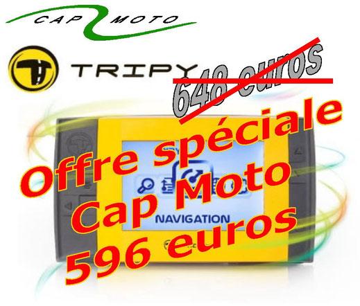 TRIPY GPS Offre Cap Moto