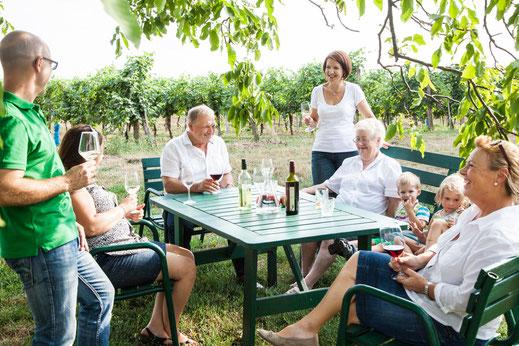 Weingut E & C Hirsch Kontakt Weinverkostung