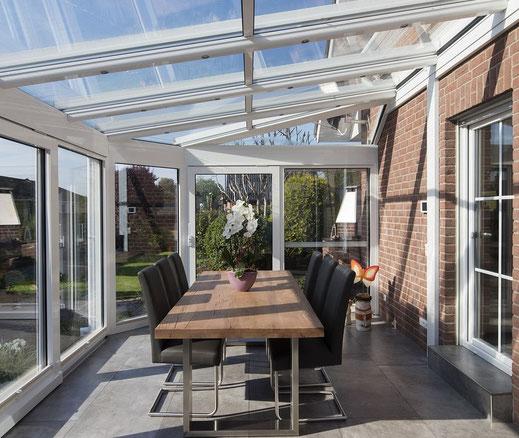 Wintergärten, Vordächer und Balkonverglasung - Glaserei Ludewig GmbH in Hamburg