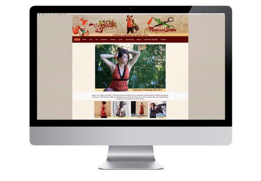 site web mode vêtement boutique en ligne