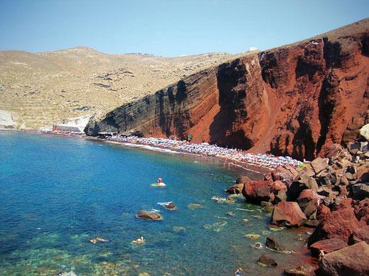 Santorini: Le spiagge da non perdere