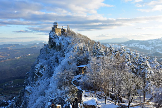 Emilia Romagna: San Marino, Ferrara e Bologna