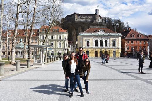 Lubiana: Mini - Guida della Capitale Slovena