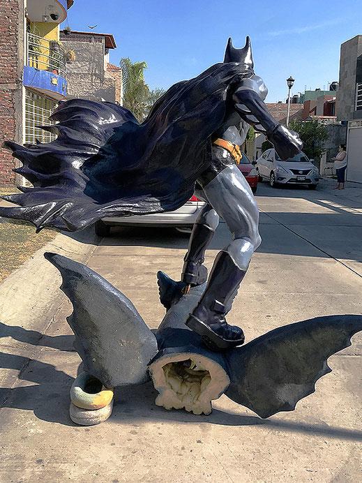 batman fiberglas