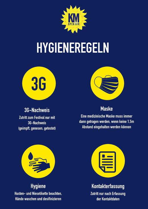 Kirchheimer Musiknacht OPEN AIR - Hygieneregeln