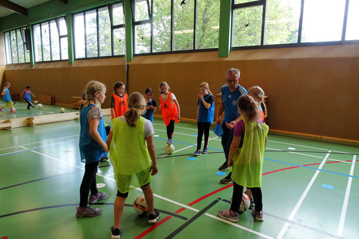 "Foto ""Tag des Mädchenfußballs"" des FC Alpenrod/Lochum"
