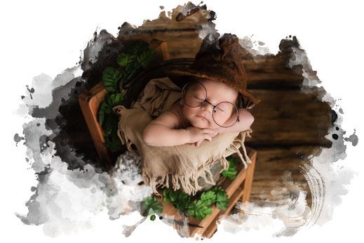 Neugeborenen Fotograf Oberösterreich - Salzburg Junge Indianer