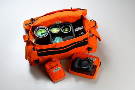 カメラ本体2とレンズ4