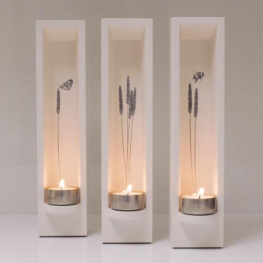 Design Teelichthalter Leuchtobjekt - DIE LUX BOX druck