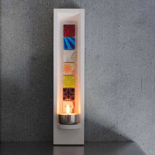 Design Teelichthalter Leuchtobjekt - DIE LUX BOX ornament
