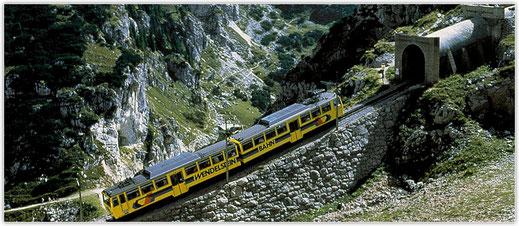 Wandern mit der Wendelsteinzahnradbahn, Ausflug vom Hotel zur Post