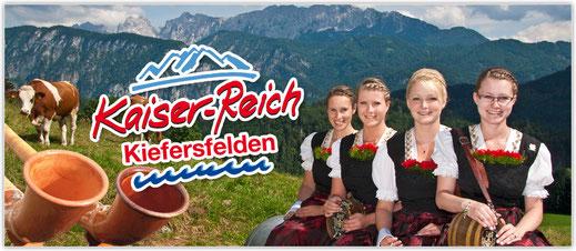 """Wanderurlaub im """"Kaiserreich"""" Kiefersfelden im Hotel zur Post"""
