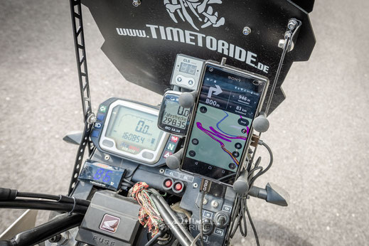 Silikon Smartphone Schutzhülle - Ideal auch zum Motorrad-Fahren
