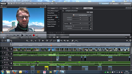 Magix Video Deluxe - Videoschnitt nach Maß