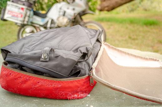 Ordnung schaffen auf Reisen mit den Pack-It Cubes für Campingequipment und Kleidung
