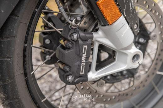 Teilintegrierte Bremsanlage BMW R 1250 GS Adventure